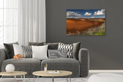 תמונה לסלון - מיכאל שמידט - חקלאות ציורית - מק''ט: 278042