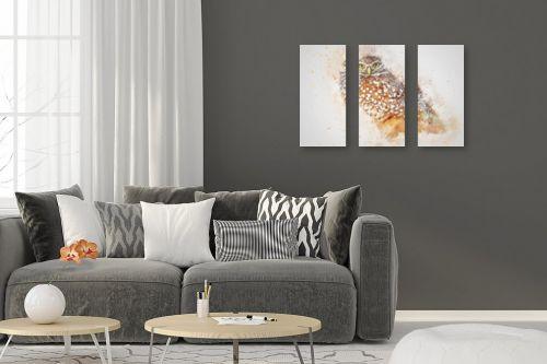 תמונה לסלון - Artpicked - עיני נץ - מק''ט: 333621
