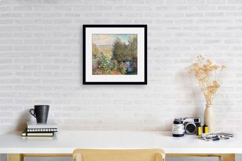 תמונה לפינת עבודה - קלוד מונה - Claude Monet 102 - מק''ט: 115863