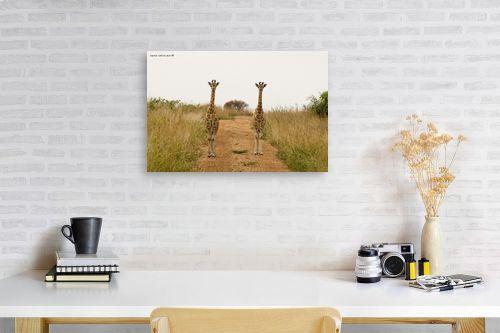 תמונה לפינת עבודה - שרית סלימן - דוגמניות מאפריקה - מק''ט: 163544
