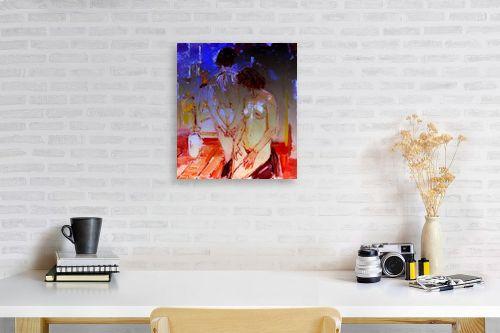 תמונה לפינת עבודה - בן רוטמן - 2 נשים - מק''ט: 172964