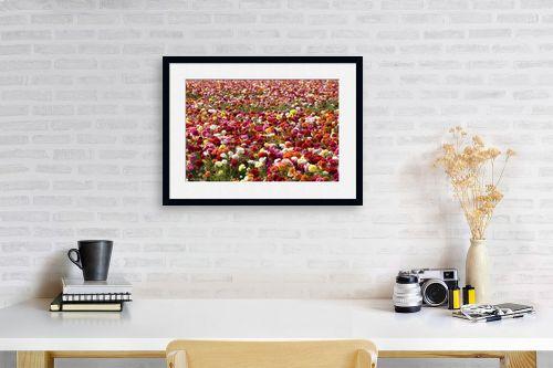 תמונה לפינת עבודה - שרית סלימן - פרחים פרחים - מק''ט: 187456
