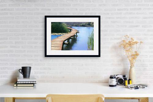 תמונה לפינת עבודה - קובי פרידמן - גשר - מק''ט: 19588