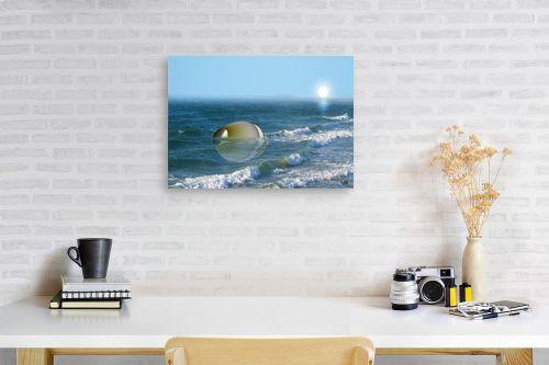 תמונה לפינת עבודה - ויקטוריה רייגירה - כד בים - מק''ט: 228864