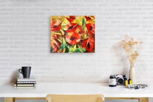 תמונה לפינת עבודה - בן רוטמן - האדומים הפרגים - מק''ט: 229718