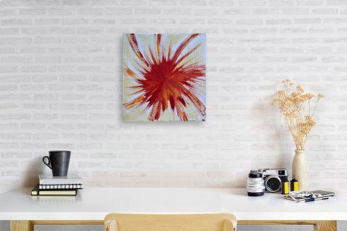 תמונה לפינת עבודה - אירית שרמן-קיש - כתם באדום - מק''ט: 259859