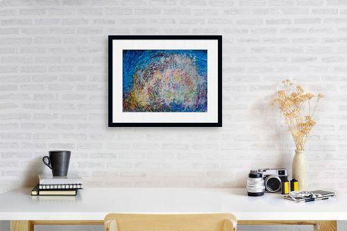 תמונה לפינת עבודה - אירית שרמן-קיש - צבעים במרחב - מק''ט: 260378