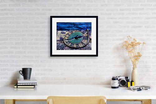 תמונה לפינת עבודה - אורית גפני - מעגלי הזמן - מק''ט: 270781