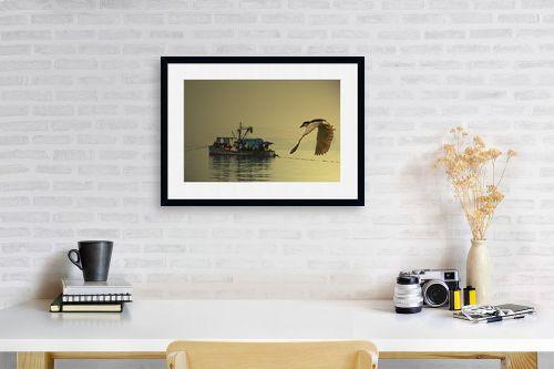 תמונה לפינת עבודה - שי וייס - אנפה עורבת לדייג - מק''ט: 271619