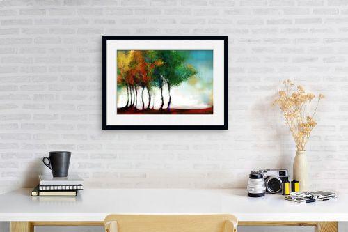תמונה לפינת עבודה - גורדון - העצים שלימדו אותי פסדובלה - מק''ט: 309296