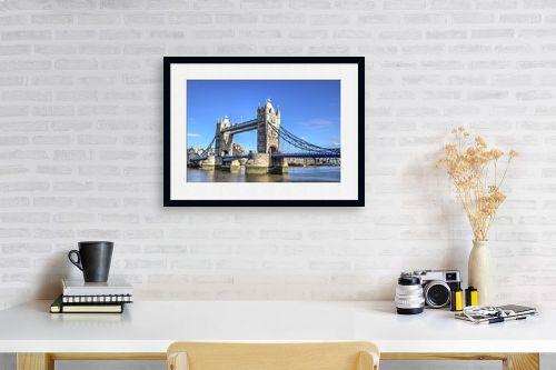 תמונה לפינת עבודה - מתן הירש - Tower Bridge - מק''ט: 313258