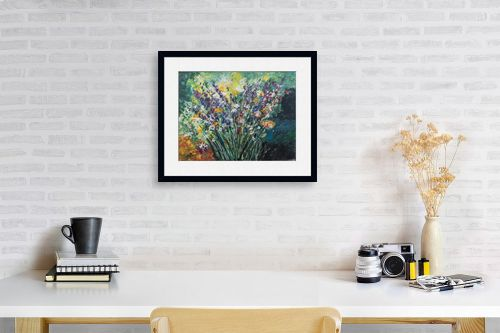 תמונה לפינת עבודה - דיאנה אורן - זר פרחים - מק''ט: 316285