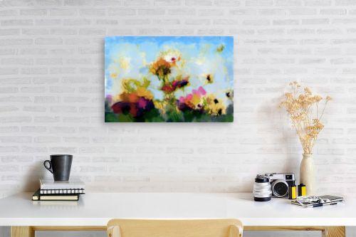 תמונה לפינת עבודה - גורדון - פרחים מהאגדות - מק''ט: 318433