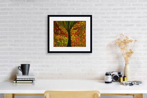 תמונה לפינת עבודה - אסתר חן-ברזילי - עמק הפרחים - מק''ט: 319090