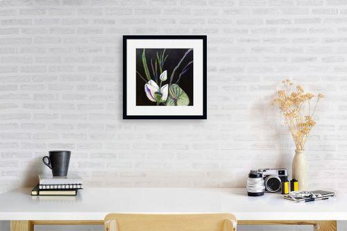 תמונה לפינת עבודה - אילה ארויו - סידור פרחים יפני - מק''ט: 323535