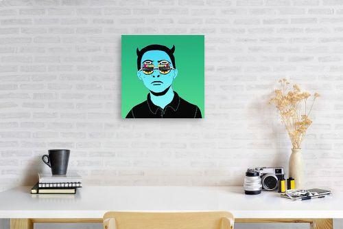 תמונה לפינת עבודה - Artpicked - tv boy - מק''ט: 329734