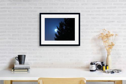 תמונה לפינת עבודה - משה יפה - בראש כחול - מק''ט: 6089