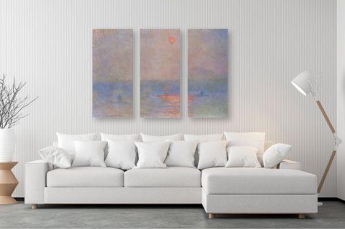 תמונה לסלון - קלוד מונה - Claude Monet 048 - מק''ט: 115808
