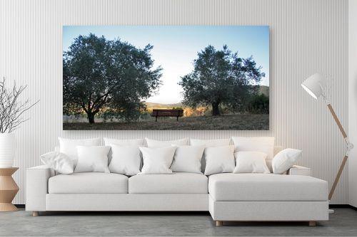 תמונה לסלון - מיכל פרטיג - ספסל לנוף - מק''ט: 120182