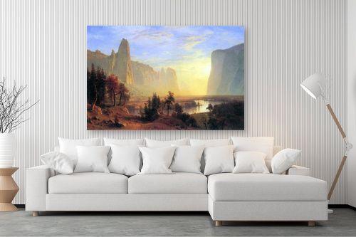 תמונה לסלון - אלברט בירשטאדט - Albert Bierstadt 071 - מק''ט: 124681