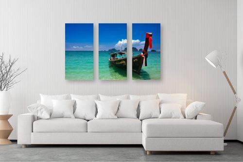 תמונה לסלון - ניר אלון - חוף קראבי - מק''ט: 129499