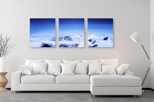 תמונה לסלון - Red סטודיו - הרים - מק''ט: 130207