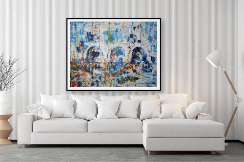 תמונה לסלון - מרים קופפרשטיך - נוף עם קשתות - מק''ט: 139091