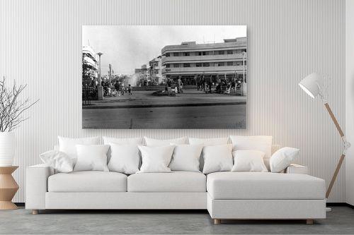 תמונה לסלון - דוד לסלו סקלי - כיכר העיר - 1935 - מק''ט: 142086