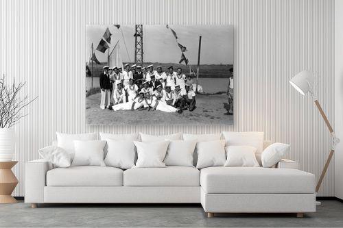 תמונה לסלון - דוד לסלו סקלי - תל אביב 1939 תמונת מחזור - מק''ט: 143383