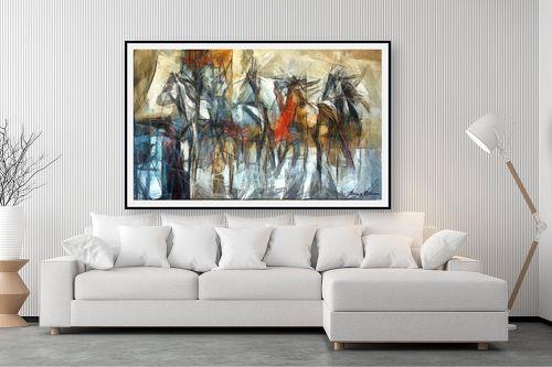 תמונה לסלון - בן רוטמן - מירוץ סוסים - מק''ט: 144916
