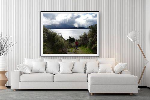 תמונה לסלון - אסי סיני - heaven on earth - מק''ט: 149870