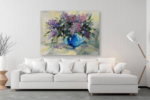 תמונה לסלון - נטליה ברברניק - לילך בכחול - מק''ט: 154997