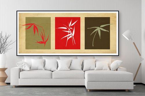 תמונה לסלון - נעמי עיצובים - במבוק שלישיה - מק''ט: 158132