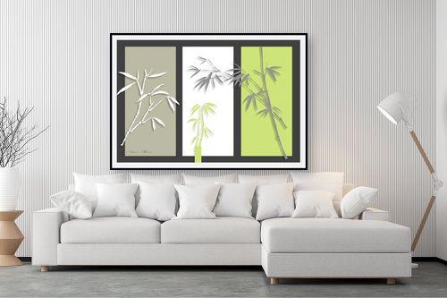 תמונה לסלון - נעמי עיצובים - במבוק על אפור - מק''ט: 160920