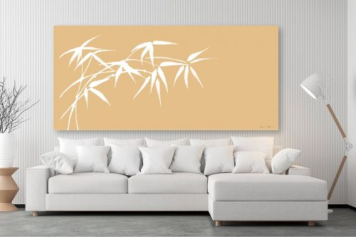 תמונה לסלון - נעמי עיצובים - ענף במבוק בהיר - מק''ט: 162718