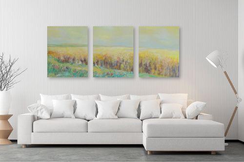 תמונה לסלון - רינה יניב - שיבולים שיבולים בחמה - מק''ט: 169788