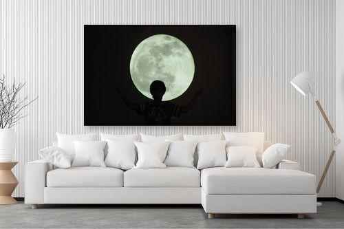 תמונה לסלון - אלי נגר - ירח - מק''ט: 177879