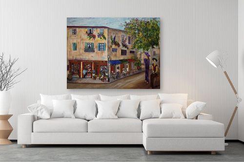 תמונה לסלון - רוחלה פליישר - במבט לרחוב - מק''ט: 182377