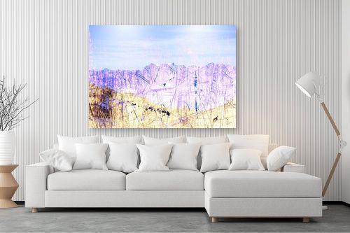 תמונה לסלון - רוזה לשצ'ינסקי - נוף כחול - מק''ט: 203686