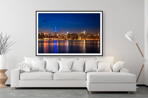 תמונה לסלון - עידן גיל - קו רקיע ניו יורק - מק''ט: 228654