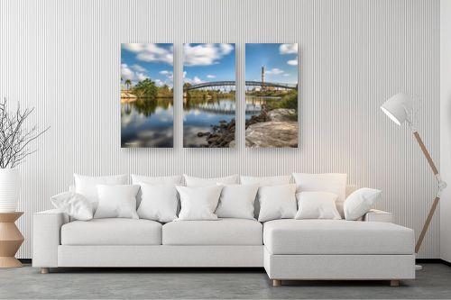 תמונה לסלון - מיכאל שמידט - גשר הירקון - מק''ט: 230909