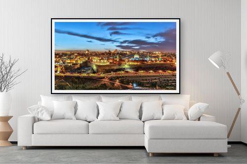 תמונה לסלון - מיכאל שמידט - ירושלים בזהב - מק''ט: 236410