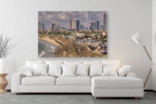 תמונה לסלון - אורי ברוך - חוף תל אביב - מק''ט: 239238