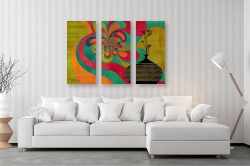 תמונה לסלון - בתיה שגיא - RETRO ART - מק''ט: 239444