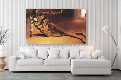 תמונה לסלון - סלבדור דאלי - Anthropomorphic Cabinet - מק''ט: 240066