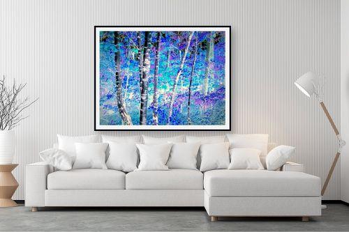תמונה לסלון - שולי חיימזון - היער הכחול - מק''ט: 246413