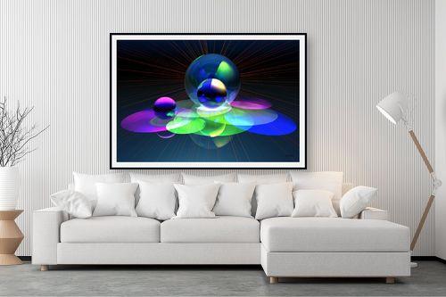 תמונה לסלון - רעיה גרינברג - אורות בחלל - מק''ט: 248323