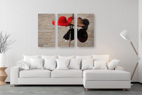 תמונה לסלון - כרמל תדמור - הכובע האדום - מק''ט: 254074
