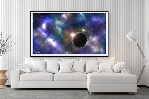 תמונה לסלון - אוהד דאיה - intergalactic - מק''ט: 257479