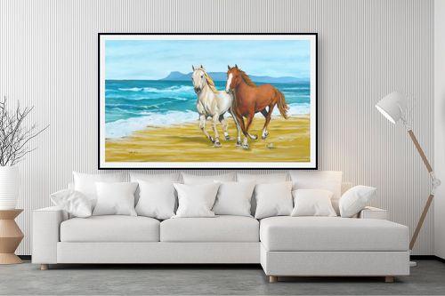תמונה לסלון - נריה ספיר - דהרה על החוף - מק''ט: 259591